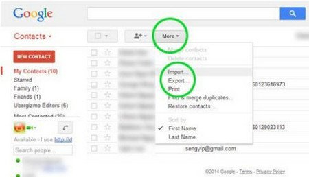 import google contacts to iphone 2 ways to transfer contacts from iphone to samsung galaxy 17323