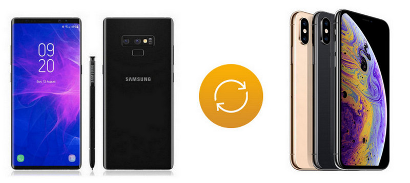 How to Transfer Data from Samsung to iPhone Xs/Max