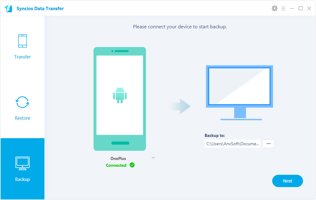 Seamlessly Backup and Restore OnePlus 6 with One Click