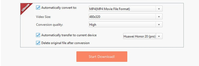 How to Download YouTube Music, Video to Huawei Honor 20(Pro)
